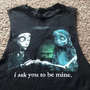 NWOT Corpse Bride Muscle Tank